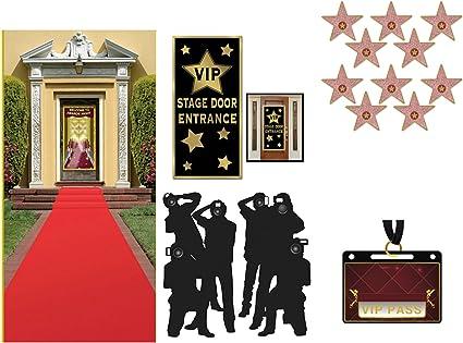 Amazon.com: Hollywood Red Carpet ceremonia fiesta temática ...