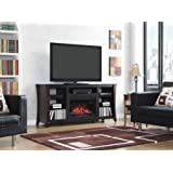 Classic Flame 26MM9689-NC72 Marlin Media Fireplace Mantel, 26-Inch (FIREPLACE NOT INCLUDED, MANTEL ONLY)
