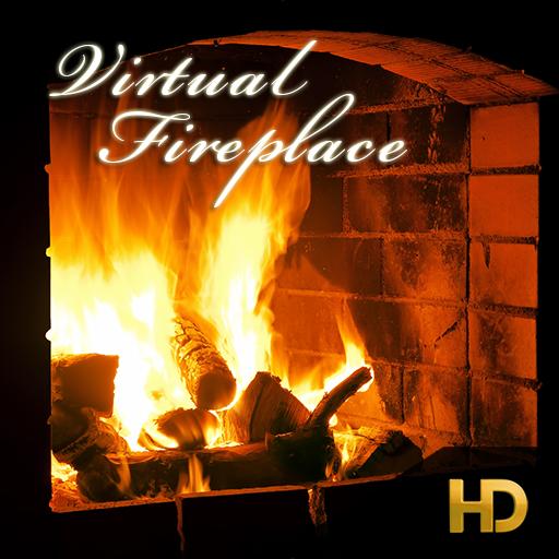 Virtual Fireplace HD IAP