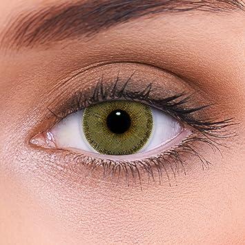 05e0d703092c4 Altamente cubriendo las lentes de contacto marrones naturales  coloreadas quot Natural Hazel quot  + contenedor de
