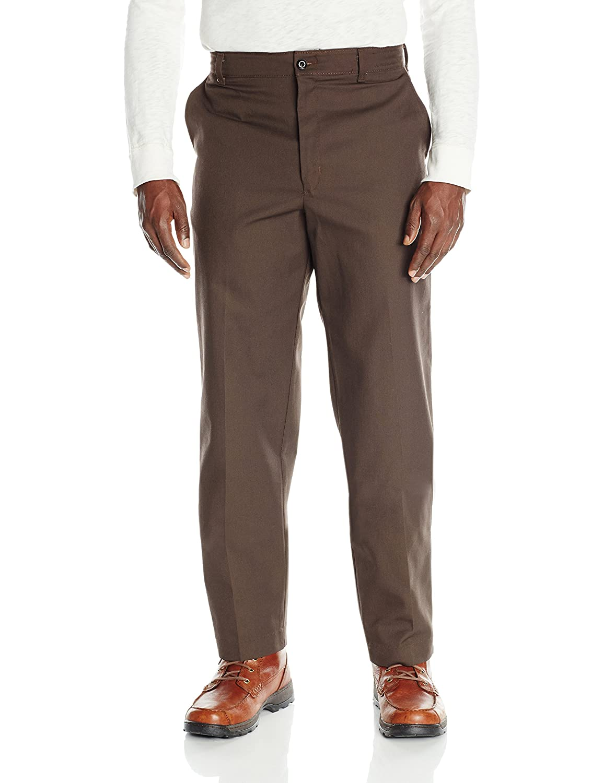 Dickies Back to School Uniform Flat Front Mahogany Brown Pants Size 4-20 NWT