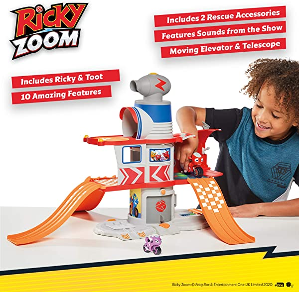 Ricky Zoom Ricky's House Adventure Playset toy for kids