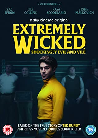 Extremely Wicked, Shockingly Evil and Vile DVD 2019: Amazon