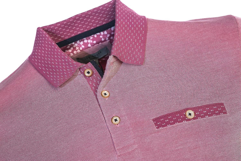 Ted Baker Carosel Polo Shirt in Pink