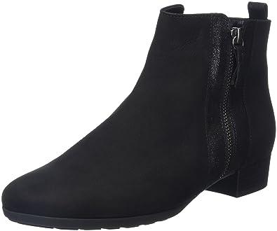 Gabor Shoes Comfort Fashion, Bottes Femme, Noir (Schwarz Micro), 37.5 EU