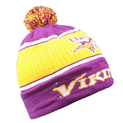 Image Unavailable. Image not available for. Color  Forever Collectibles NFL  Minnesota Vikings Big Logo Knit Light Up Beanie Hat e8dec0f74