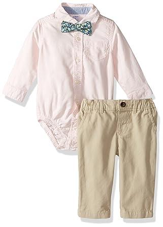 b115bb591 Amazon.com: Carter's Baby Boys' 3-Piece Dress Me Up Set: Clothing