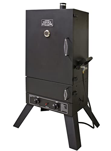Smoke Hollow 44241G2 44-Inch Vertical Popane Gas Smoker - best gas smoker