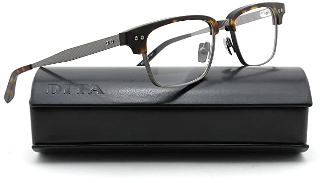 09260906559 Image Unavailable. Image not available for. Colour  Dita STATESMAN THREE  Unisex Matte Tortoise Frame Eyeglasses DRX 2064-D 52mm