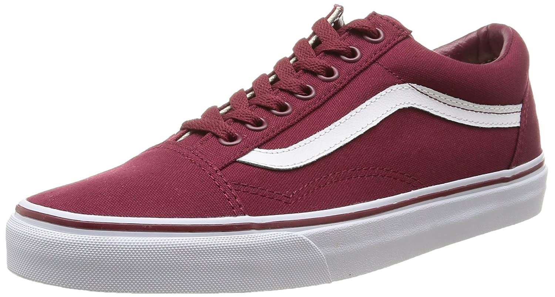 Vans Unisex Old Skool Classic Skate Shoes B00RPNINGI 13.5 B(M) US Women / 12 D(M) US Men|Canvas Cordovan