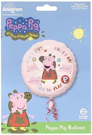 Amscan - Globos Peppa pig (2974801): Amazon.es: Electrónica