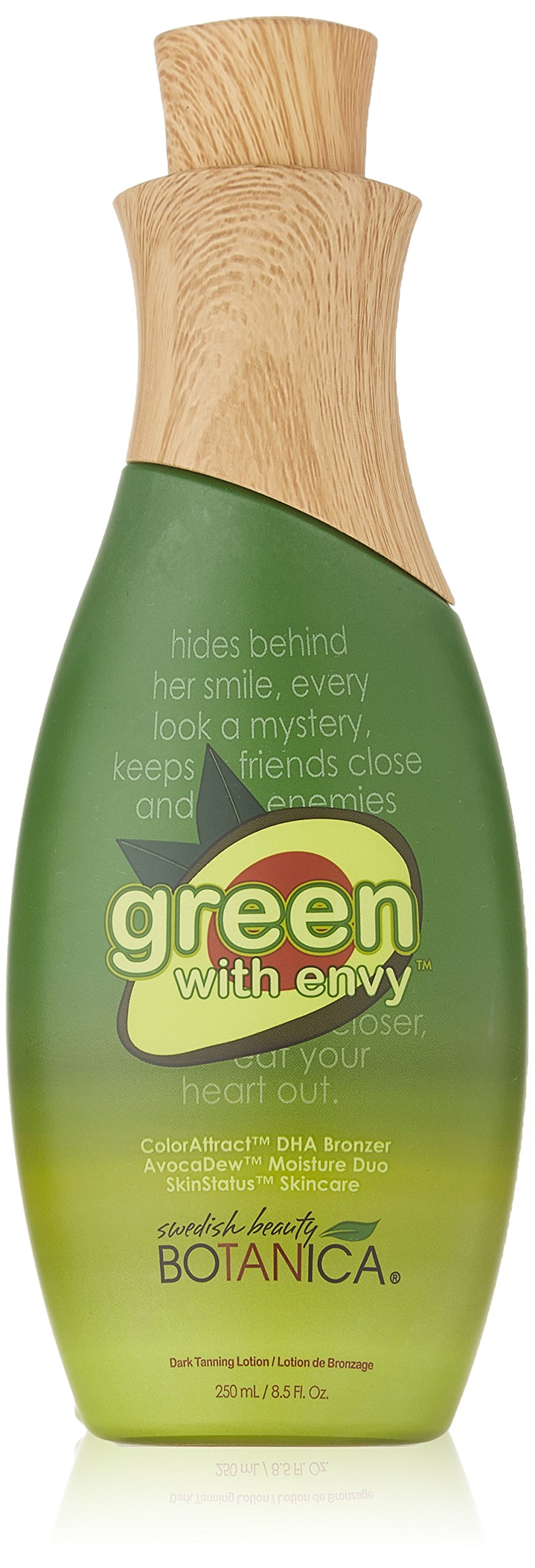 Swedish Beauty DHA Bronzer Tanning Lotion, Green with Envy, 8.5 Fluid Ounce