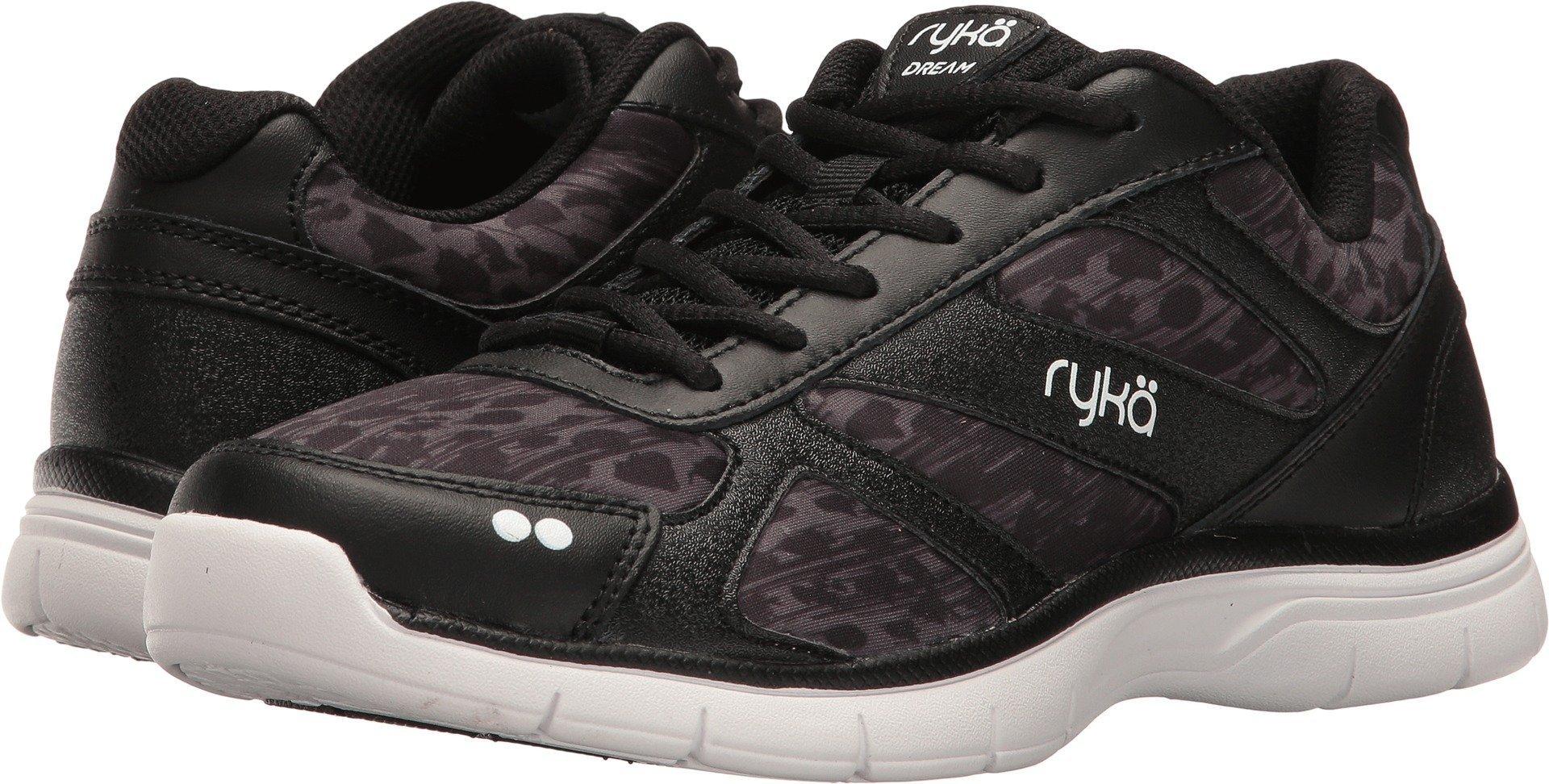 Ryka Women's Dream SMT Black/Iron Grey/White 7 B US