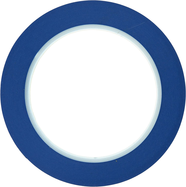 Norton 636425-72012 Blue 1//2 Fine Line Masking Tape 36 Yards