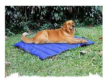 Whyyudan Potable al Aire Libre Manta Impermeable para Mascotas Alfombra Plegable para Mascotas Al Aire Libre Suave Gato/Almohadilla de Cama para Perros ...