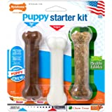 Nylabone Puppy Toy and Chew Bundle with Teething Bone, Puppy Chew Toy & Healthy Edibles Treat