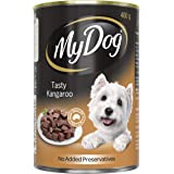 MY DOG Tasty Kangaroo Wet Dog Food 400g Can, Adult, 24 Pack