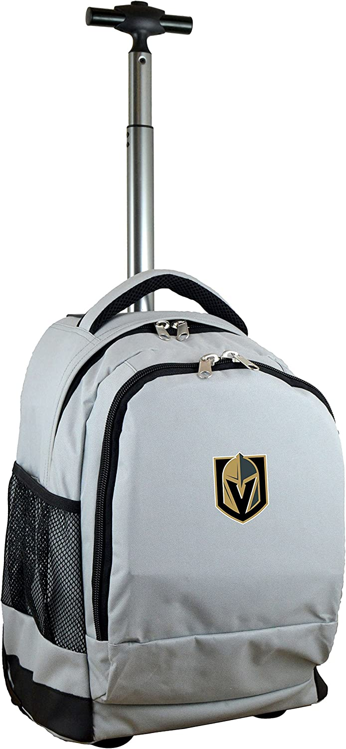 NHL Vegas Golden Knights Expedition Wheeledバックパック、19-inches、グレー