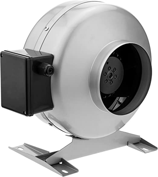 PrimeMatik KH052-VCES Ventilador de Tubo de 125 mm. Extractor de ...