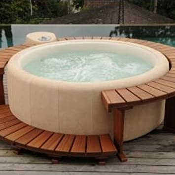 The Model Basic 220 3-4 Persons Almond Pearl Softub Tub: Amazon.co ...