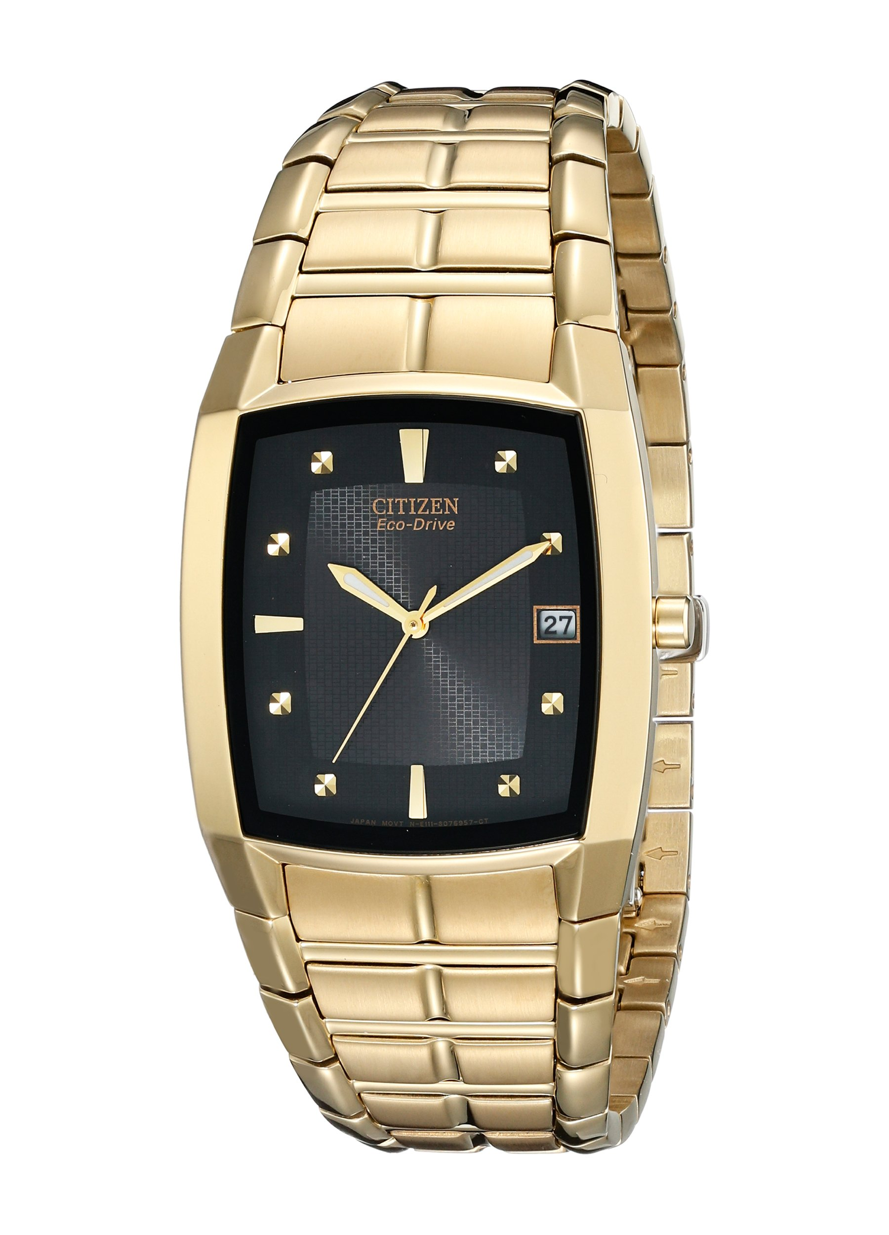 Citizen Men's Eco-Drive Stainless Steel Watch with Date, BM6552-52E