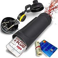 Diversion Water Bottle - Hidden Wallet Compartment is Best for Travel Safes Or Hidden Safe for The Home - Black…