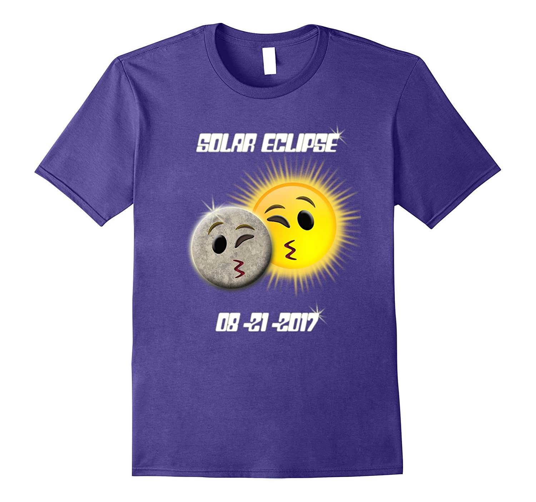 Emoji Solar Eclipse, 21st August 2017, Sun and Moon T-shirt-Art