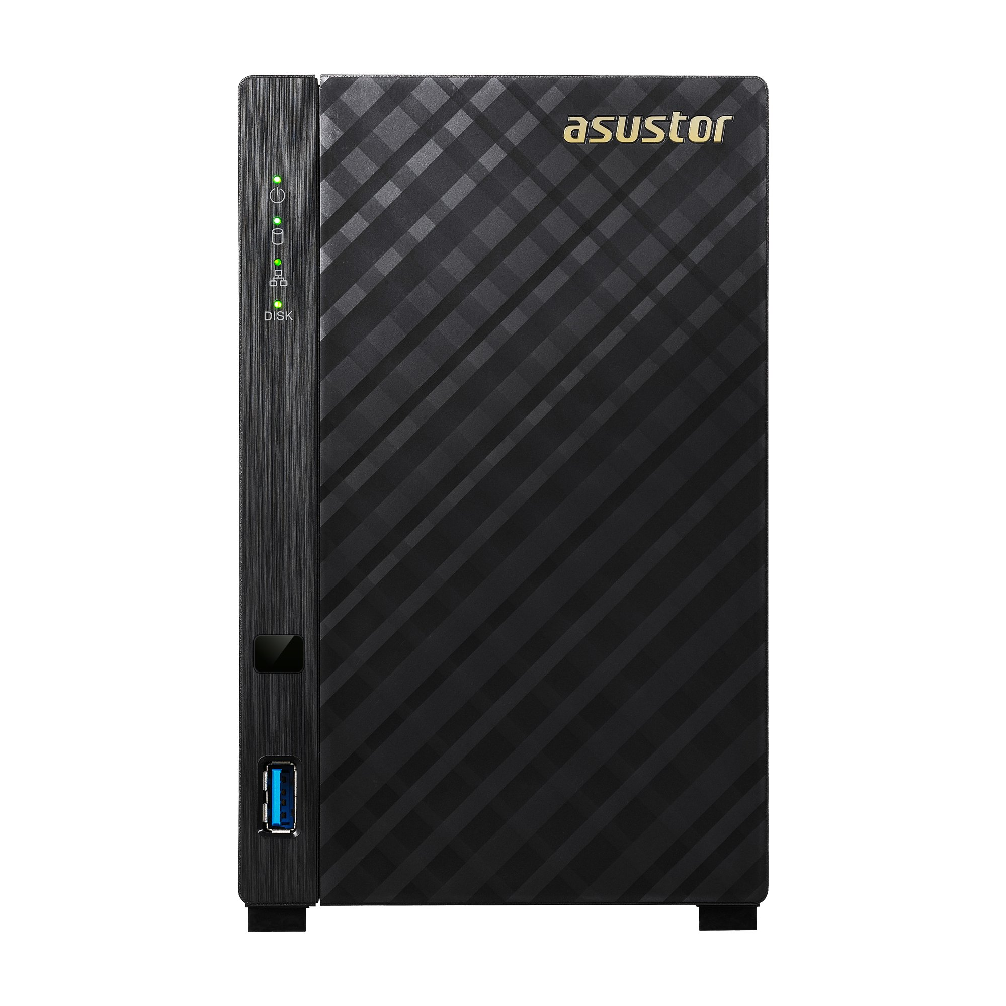 Asustor AS3102T v2, 2-Bay NAS (Diskless), Intel 1.6GHz Dual-Core, 2GB RAM, Personal Cloud NAS