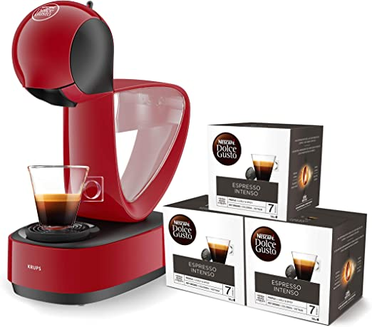 Pack Krups Dolce Gusto Infinissima KP1705 - Cafetera de cápsulas ...