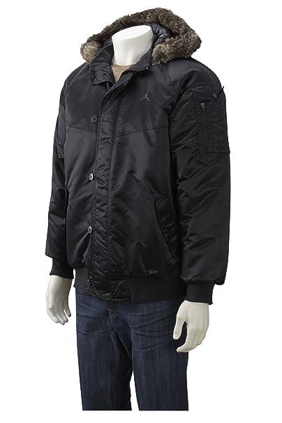 Nike - Abrigo easy fit para hombre, talla M, color Negro: Amazon.es: Ropa y accesorios