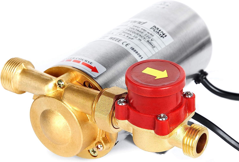 Heißwasser Booster Ladegerät Hochdruck Dusche Pumpe Elektrische Home 90W