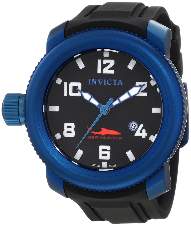 Invicta Mens 1548 Sea Hunter Black Dial Adidas Adp3156 Jam Tangan Polyurethane Watch Watches