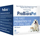 EvoraPet ProBioraPet (formerly Oral Probiotic for Pets - Supports Healthy Teeth and Gums, Freshens Breath - 30 Day Supply (30g)