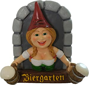 BELLA HAUS DESIGN Gnome Biergarten Tree Hugger Sign 11