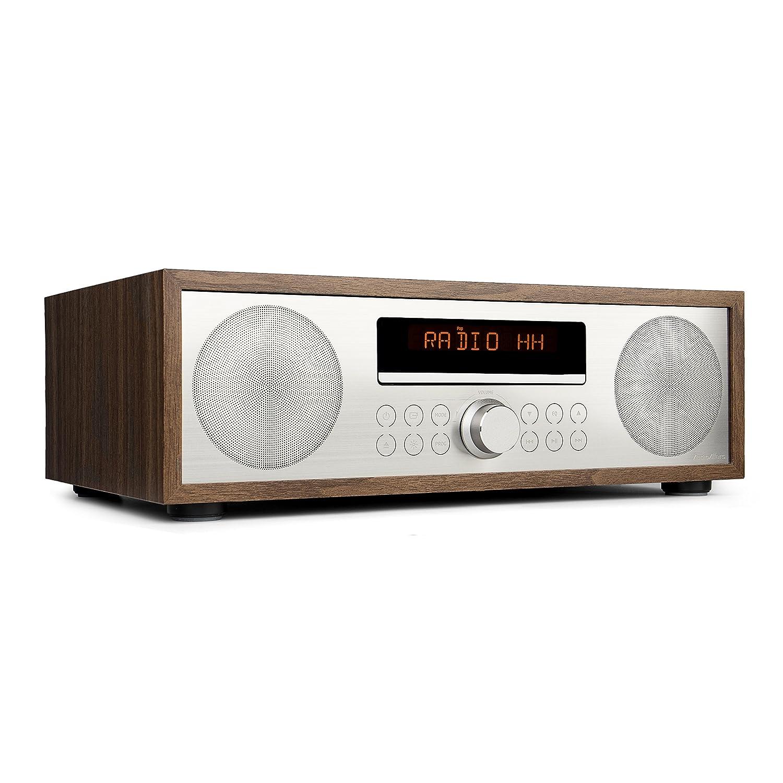 AudioAffairs CD Mikroanlage/MP3 Audio Stereoanlage Kompaktanlage Mit  Bluetooth 3.0, PLL UKW