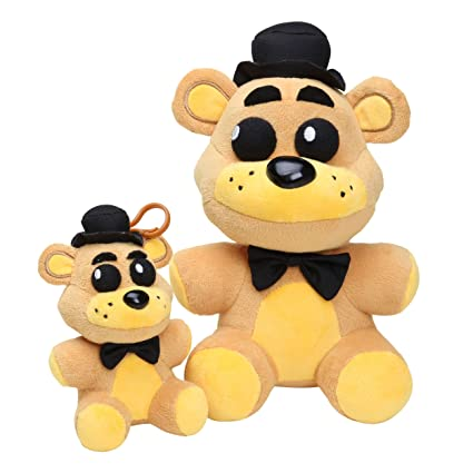 Microplush Five Nights At Freddys Toys Golden Freddy Plush Set Of 2 5quot And