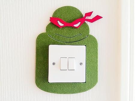 Super Cool 3d Tortugas Ninja Raph Interruptor de luz ...