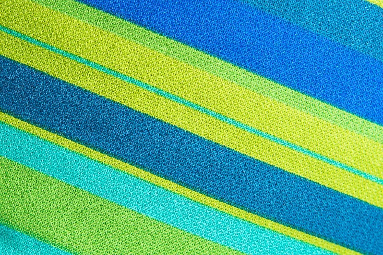 Sling-Tragetuch blue//green Zaffiro Babytragetuch BE CLOSE 460 x 70 cm