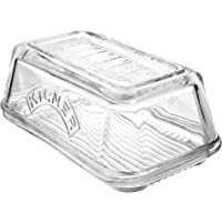 Kilner Glass Butter Dish, 17x10x7.2cms, Mulicolor, 01751