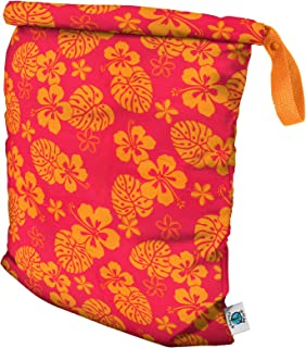 product image for Planet Wise Roll Down Wet Diaper Bag - Large - Pink Hawaii
