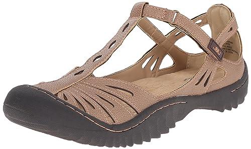 b4a0a5b84bcc Jambu JBU Women s Melon Flat Brown  Amazon.ca  Shoes   Handbags