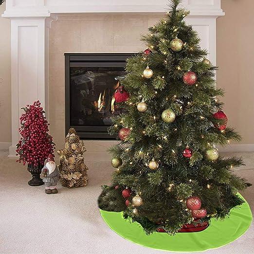 Falda de árbol de Navidad Creat1ive Fashion Beautiful Ring Print ...