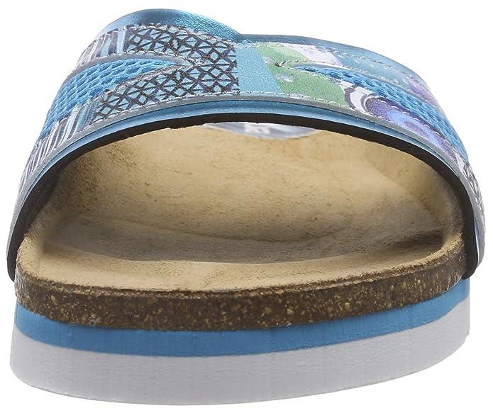 Desigualscarpe_ BIO 11 Nora - Zoccoli da Donna, Colore Turchese (Türkis (5024 Turquesa PALO)), Taglia 39