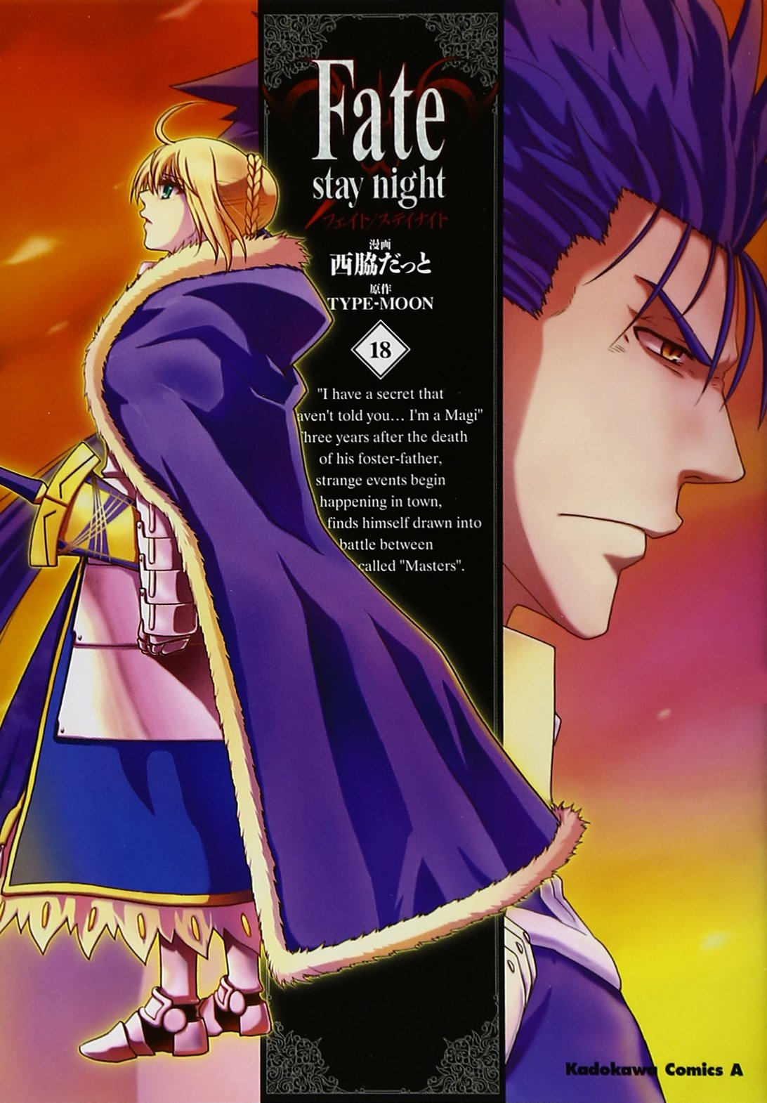 Fate / stay night (18) (Kadokawa Comics Ace A) (2012) ISBN: 4041202027 [Japanese Import] pdf