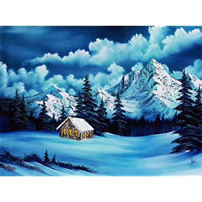 Wellspring Bob Ross - 500 Piece Puzzle - Winter (6814)