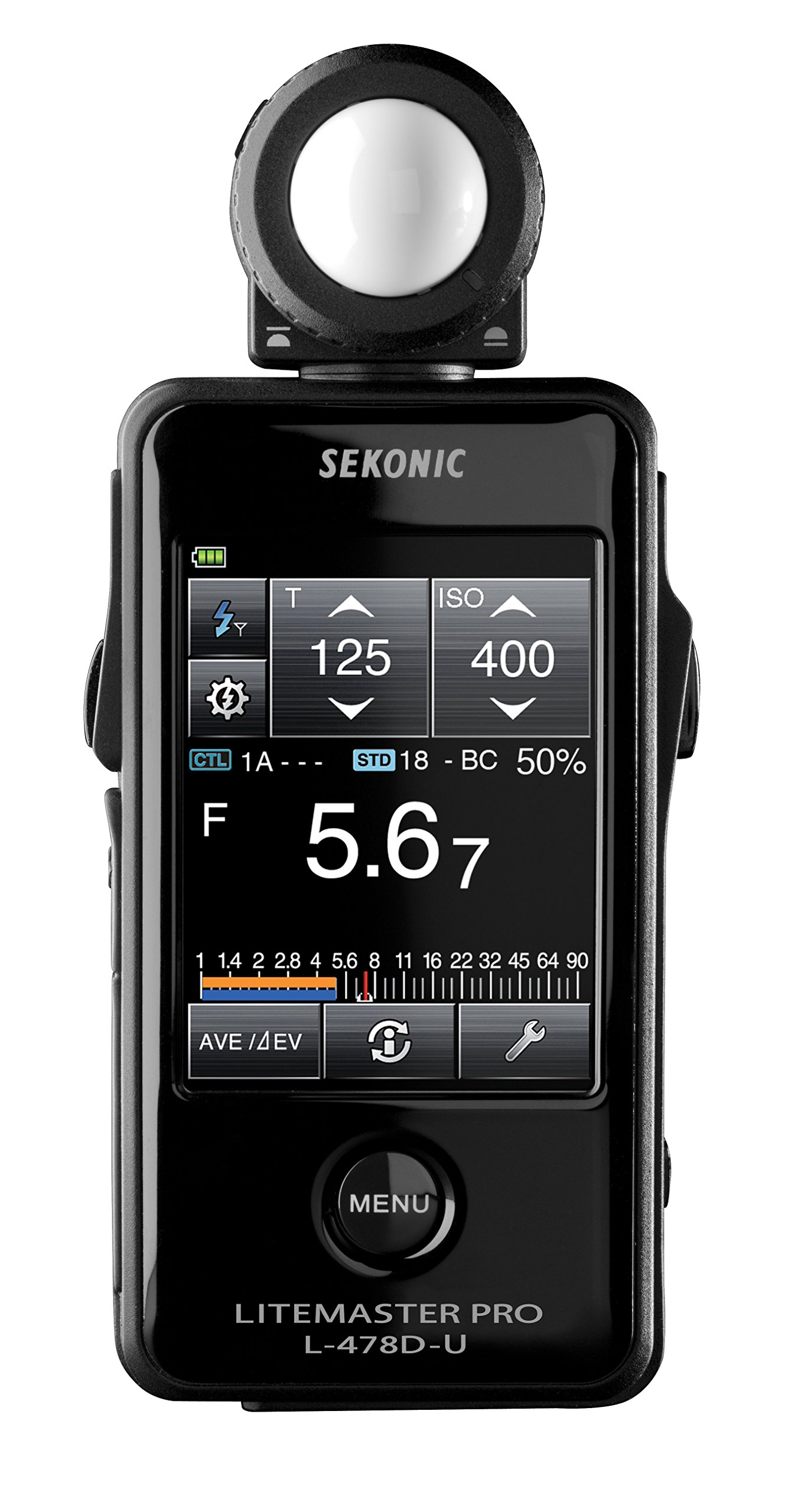 Sekonic LiteMaster Pro L-478D-U Light Meter (401-474) by Sekonic