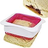 Affordable Sandwich Sealer And Decruster - HomeMade Uncrustables Maker (1, Sandwich Cutter)