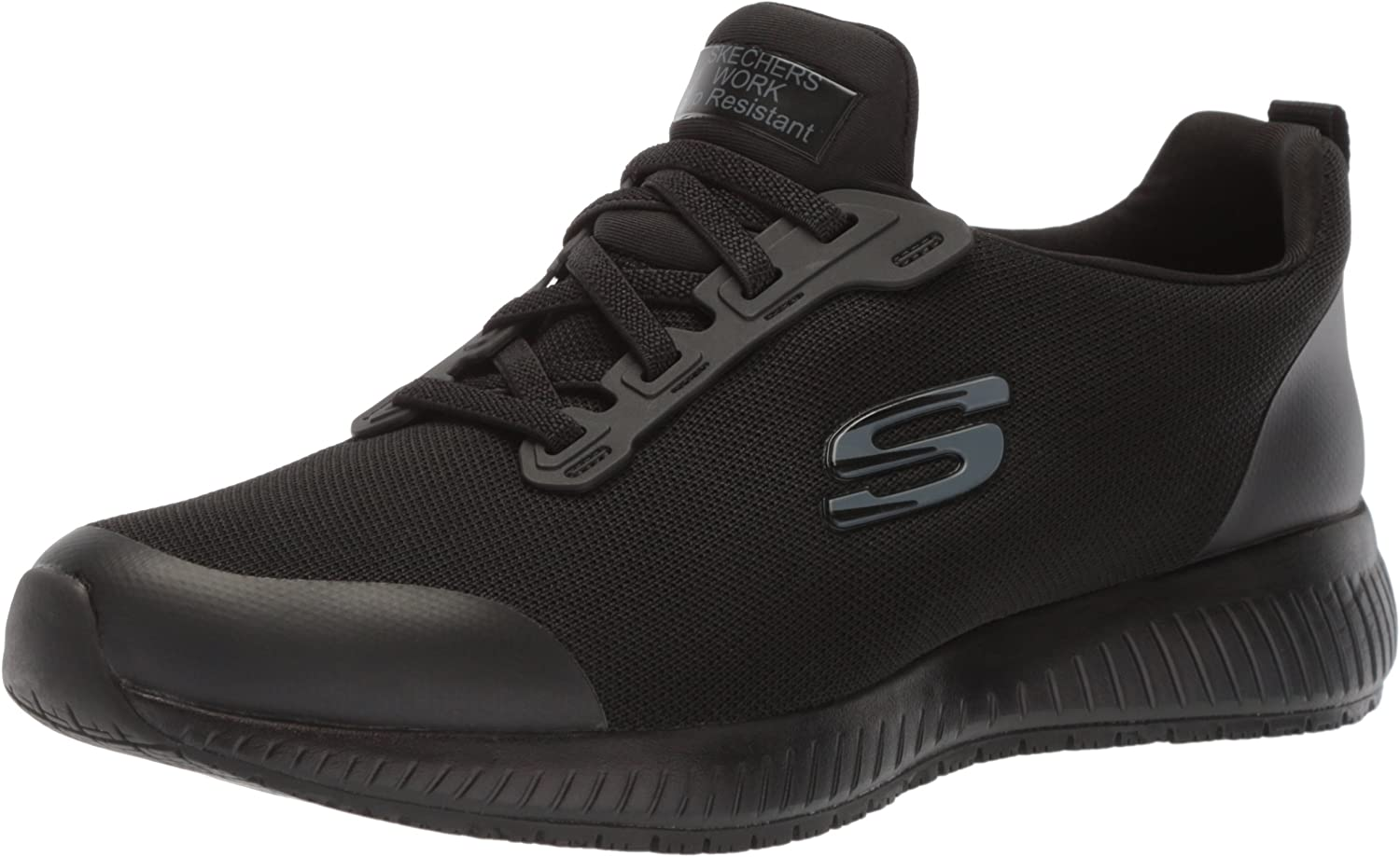 Amazon.com | Skechers for Work Women's Squad SR Food Service Shoe ...