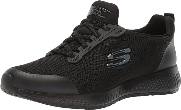 8. Skechers Women's Squad-Sr Food Service Shoe