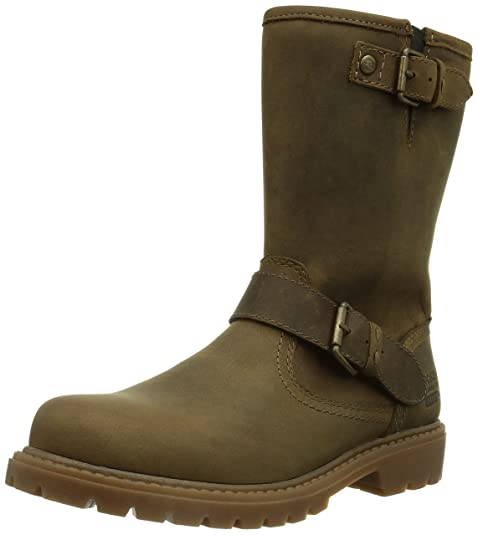 Dockers 310718-007020, Botines para Mujer, Cafe 020, 39 EU: Amazon.es: Zapatos y complementos